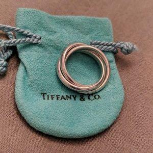 Silver Tiffany & Co. Trinity Ring